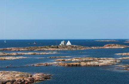 Inselgruppe und Küstenbereich